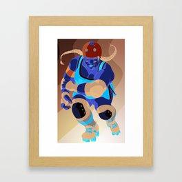 Derby Girls 04 Framed Art Print