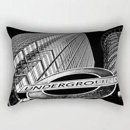 Canary Wharf  Art Rectangular Pillow