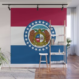 Flag of Missouri Wall Mural