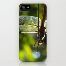 Dragonfly Summer iPhone Case