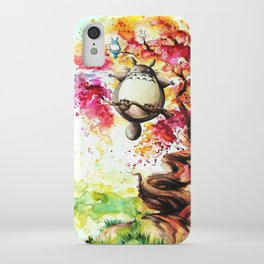 """""""In the red tree"""" iPhone Case"""