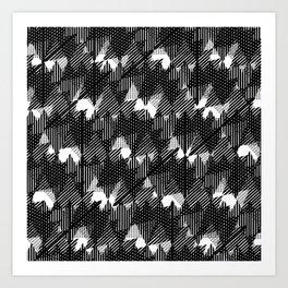 Pattern #1.1 Art Print