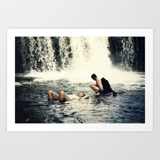 waterfall #1 Art Print