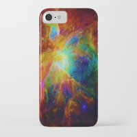 nebula iPhone & iPod Cases featuring Orion NEBula  : Colorful Galaxy by 2sweet4words Designs