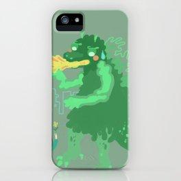 Godbilla iPhone Case