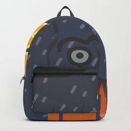 black glance Backpack