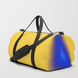 Blue and yellow Duffle Bag