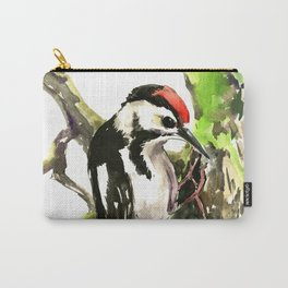 Dawny Woodpecker Carry-All Pouch