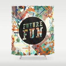 Future Fun Shower Curtain