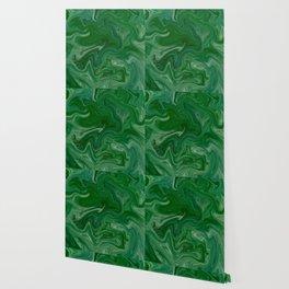 Malachite Marble Wallpaper