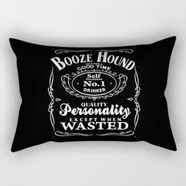 Booze Hound Rectangular Pillow