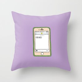 love galore Throw Pillow