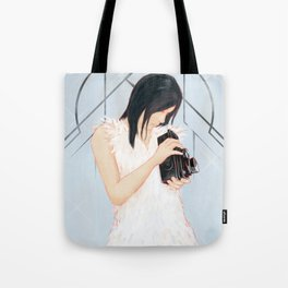 Rollei girl Tote Bag