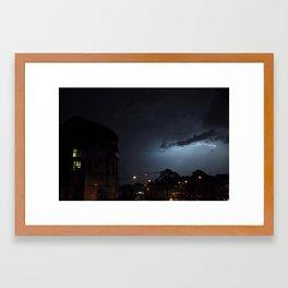 Storm Over Epsom Framed Art Print