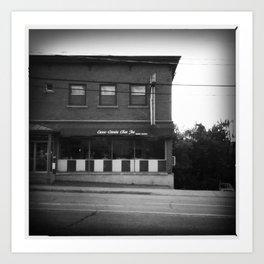 Chez Joe Art Print