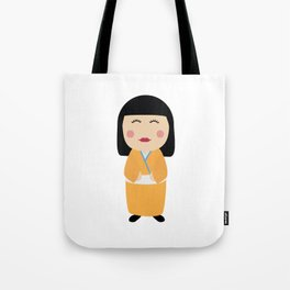 kokeshi doll  Tote Bag