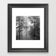Wandering.... Mono Framed Art Print