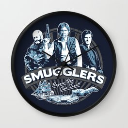 Smugglers Three Wall Clock