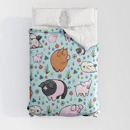 Cute Pigs Comforters