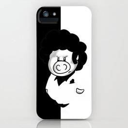 Hogface iPhone Case