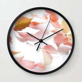 Flower Photography by Metis Designer Wall Clock