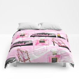 Perfume & Shoes Comforters