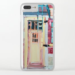 New York Fire Ladders Clear iPhone Case