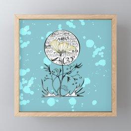 """Seed on Good Soul"" Framed Mini Art Print"