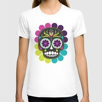 day of the dead T-shirts featuring Day of the Dead by Piper Burke