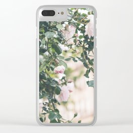 Roses in the West Village - NYC Photography Clear iPhone Case