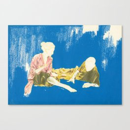 Algorithm Canvas Print
