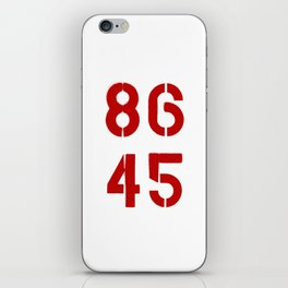 86 45 / Remove Trump iPhone Skin
