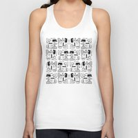 mary poppins Tank Tops featuring Mary Poppins Pattern by CozyReverie