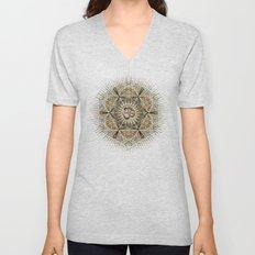 Bohemian Yoga Om Geometry Unisex V-Neck