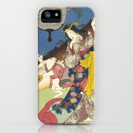 Draw of the Hare - Japanese Art iPhone Case