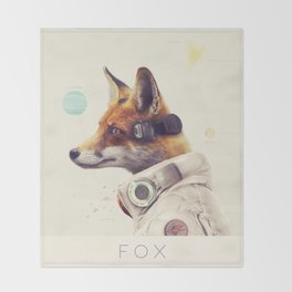 Star Team - Fox Throw Blanket