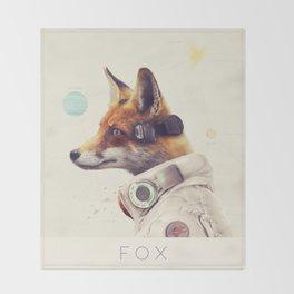 Star Team - Fox Throw Blanket