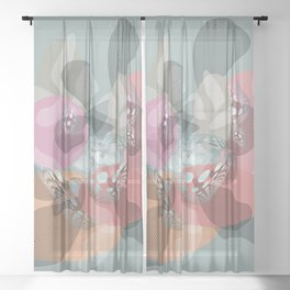 Tranquillity Sheer Curtain