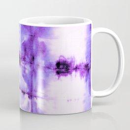 Violet Shibori Satin Coffee Mug