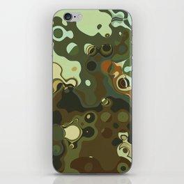 RETRO Mid Century Modern Abstract Pattern Geometric Art by Michel Keck iPhone Skin