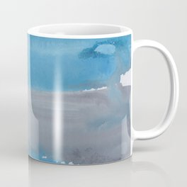 20  | 1903011 Watercolour Abstract Painting | Muted Colours Coffee Mug