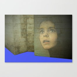 Girl Around Town 3 Canvas Print