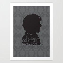 Sherlock - 221b Art Print