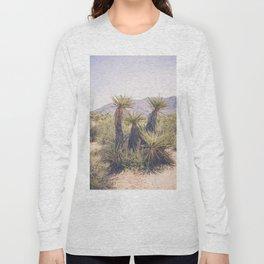 Morning in Joshua Tree Long Sleeve T-shirt