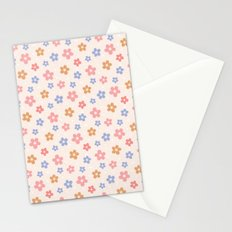 Colourful Floral Pattern Stationery Cards