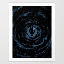 The Upside Down Art Print