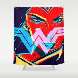 W O N D E R W O M A N (BvS) Shower Curtain