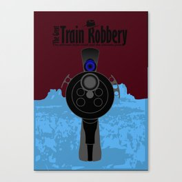 The Great Train Robbery Canvas Print
