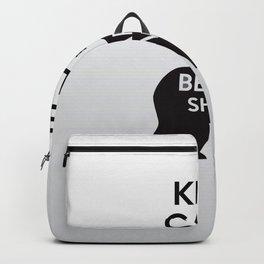 Firefly- Keep calm and be Beary Shiny Backpack