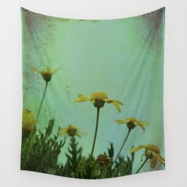 Fragile Flowers Wall Tapestry